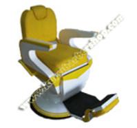 Kursi Barber Dewasa Non Hidrolik PM55 Kuning Putih