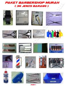 Paket Barbershop Murah (49 Jenis Barang)