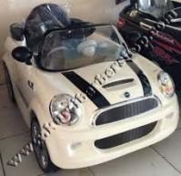 Kursi Barber Anak Mobilan Mini Cooper Putih