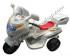 Kursi Barber Anak Motoran PMB Putih