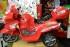 Kursi Barber Anak Motoran PMB Merah