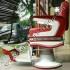 Kursi Barber Belmont Ardan Merah Putih