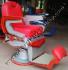 Kursi Barber Belmont Ardan Merah Silver