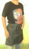 Apron Stylist Pendek Saint Ancilla Plastik Tipis Hitam