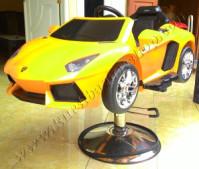 Kursi Barber Anak Mobilan Berlisensi Lamborghini Kuning