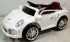 Kursi Barber Anak Mobilan Berlisensi Porsche Putih