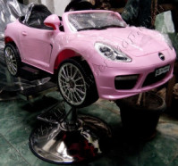 Kursi Barbar Anak Mobilan Porsche Panamera Pink