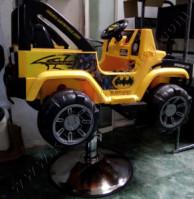Kursi Barbar Anak Mobilan Mercedes Benz Jeep Kuning Hitam