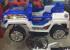 Kursi Barber Anak Mobilan Jeep Biru Putih