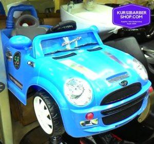 Kursi Barber Anak Mobilan Mini Cooper Biru