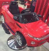 Kursi Barber Anak Mobilan Range Rover Merah