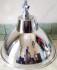 Kap Lampu Gantung Silver Diameter 38cm