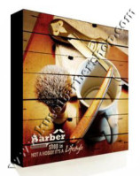 Poster Barber Frameless BS-011 Uk. 30cm x 30cm