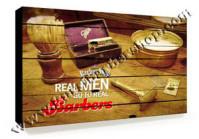 Poster Barber Frameless BS-018 Uk. 30cm x 30cm