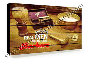 Poster Barber Frameless BS-018 Uk. 30cm x 30cm