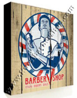 Poster Barber Frameless BS-010 Uk. 30cm x 30cm