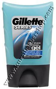Gillette Aftershave Lotion for Sensitive Skin 75ml