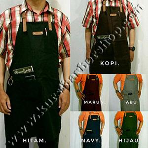Apron Stylist Raphel Leather Synthetic