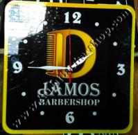 Jam Dinding Barbershop Acrylic 2