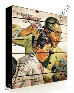 Poster Barber Frameless BS-032 Uk. 30cm x 30cm