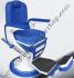 Kursi Barber Dewasa Non Hidrolik PM100 Biru-Putih