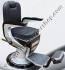 Kursi Barber Dewasa Non Hidrolik PM100 Hitam-Silver