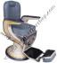 Kursi Barber Non Hidrolik PM-88A Abu2-Cream