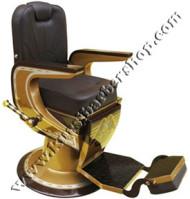 Kursi Barber Non Hidrolik PM-88A Coklat Tua-Coklat Muda