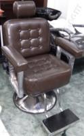 Kursi Barber Hidrolik Honshu Coklat Tua Glossy